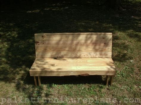 15 diy outdoor pallet bench