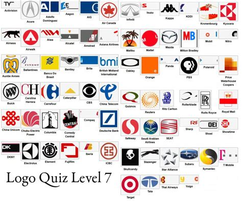 Logos And Names For Logo Quiz Level