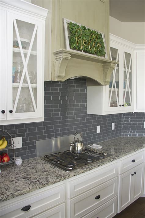 modern kitchen tile update  home depot blog