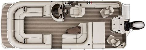 Fishing Boat Layout Ideas by G25 Cruise Fishing Pontoon Boats By Bennington