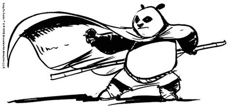 The Kung Fu Master Coloring Pages