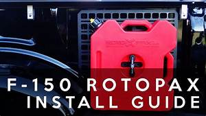 Rotopax Fuel Can Mounting In Ford F-150