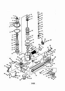 Craftsman Model 351184200 Nailer Genuine Parts