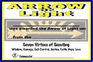 free printable arrow of light certificate template arrow With arrow of light certificate template