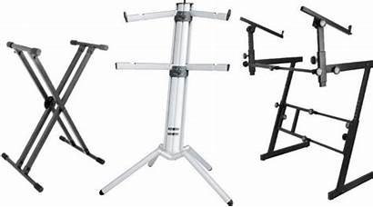 Keyboard Stands Double Gearank Stage Tiers Column