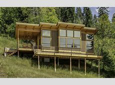 TimberCab, a prefab timber framed cabin FabCab Small