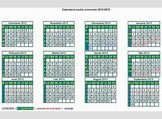Calendarul anului universitar 20122013 EUROQUALROM