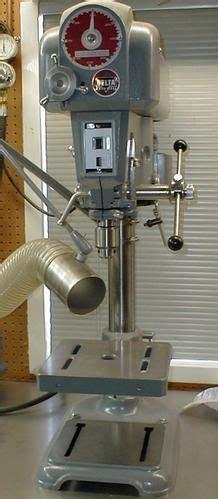 delta rockwell drill press model   vintage floor