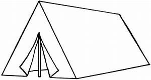 """A"" Tent | ClipArt ETC"