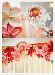 Best paper streamers ideas and images on bing find what youll love wedding streamer paper flowers mightylinksfo