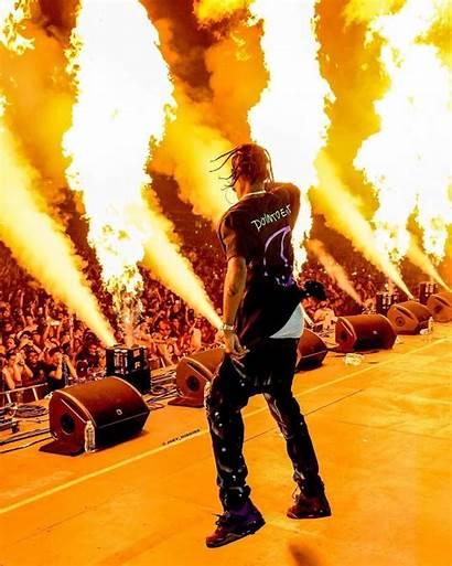 Travis Scott Concert Wallpapers Rodeo Flame Iphone