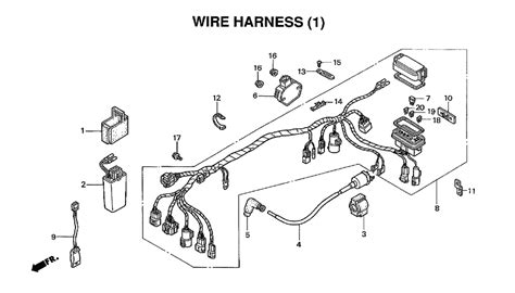 2001 Honda Rancher 350 Wiring Diagram by 2006 Honda Trx 350 Parts Diagram Downloaddescargar