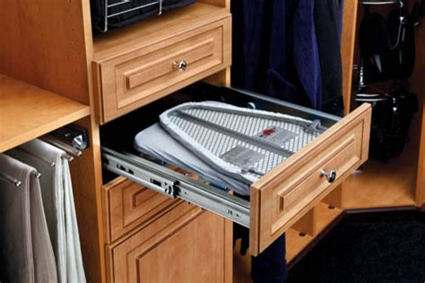 in drawer ironing board traditional closet organizers