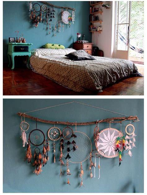 boho room decor diy catcher decor bed or headboard bohemian hype