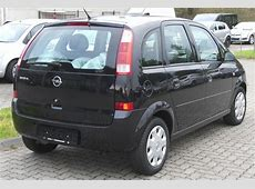 2008 Opel Meriva a – pictures, information and specs