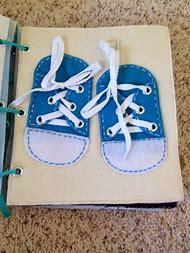 Quiet Book Shoe Tying Template