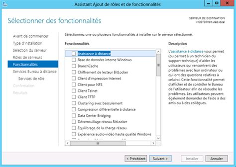 service bureau a distance windows server 2012 installation du rôle de gestionnaire