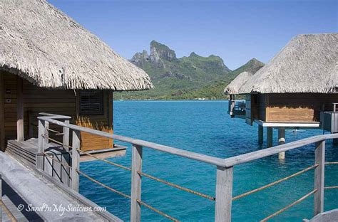 dive   deck   overwater bungalows sand