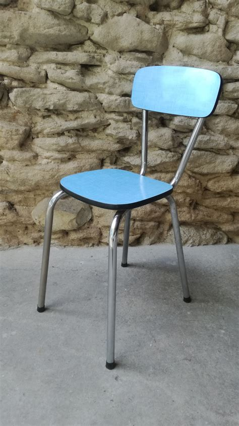 chaises formica tables 2 table bleu 1 chaises formica 2
