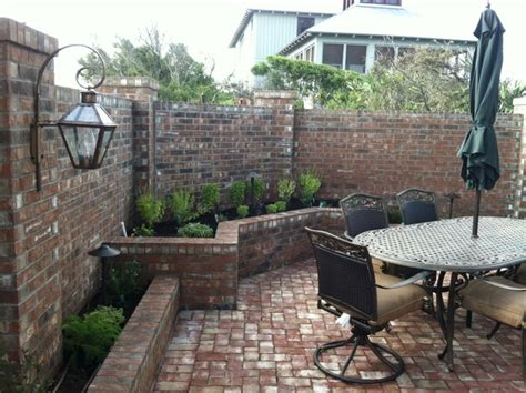 new orleans style courtyard traditional patio