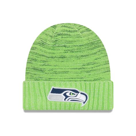 nfl seattle seahawks  era  official color rush knit