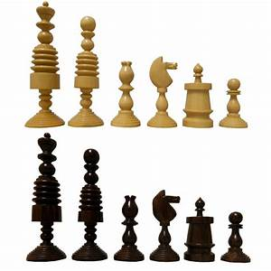5, U0026quot, Artistic, Design, Wooden, Chess, Pieces