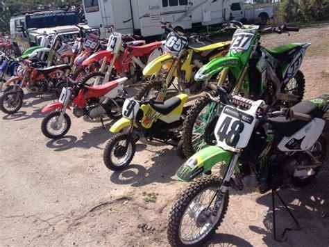 rent motocross bike rent a dirt bike in florida miami motocross park