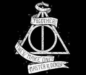 deathly hallows symbol | Tumblr