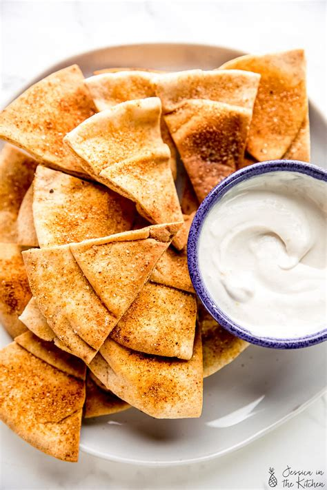 Homemade Pita Chips - Jessica in the Kitchen