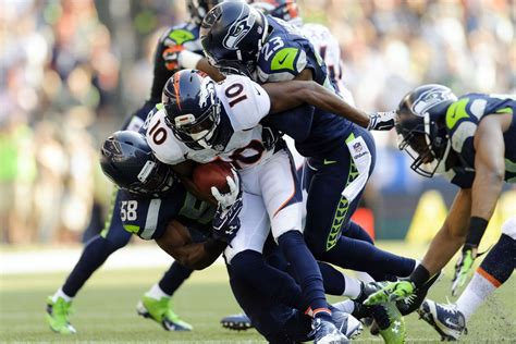 broncos  seahawks  highlights  lowlights mile
