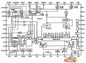 S1ao903x01 Single Chip Am  Fm Digital Tuner Circuit - Control Circuit - Circuit Diagram