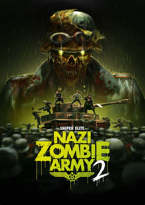 Official Art Nazi Zombie Army 2 Last Minute Continue
