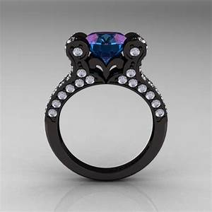 Antique Engagement Rings: French Alexandrite Engagement ...