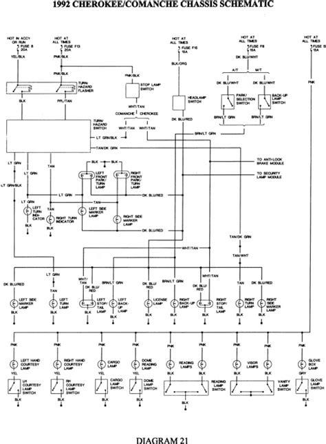 Jeep Grand Cherokee Key Light Wiring Diagram Radio Tail