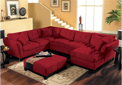 Metropolis 3pc Sectional Sofa by Home Metropolis Cardinal 4 Pc Sectional