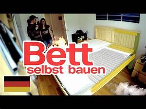 Bett Selbst Gebaut : bett selbst gebaut diy deutsch german youtube ~ Eleganceandgraceweddings.com Haus und Dekorationen