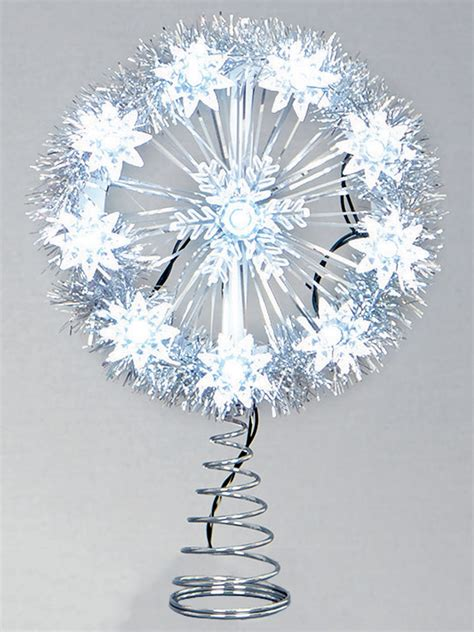 led tree topper christmas decorations top xmas star