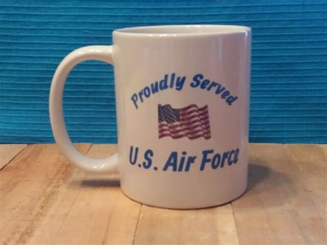 In july, the air force said that the 60th aerial port squadron at travis air force base, california, purchased 10 hot cups for $6,930 in 2016. Classic Military Coffee Mug 11oz or 15oz - Proudly Served ...