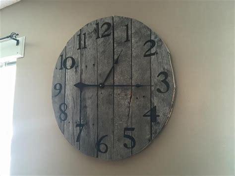 diy wooden pallet clock ideas pallet furniture plans