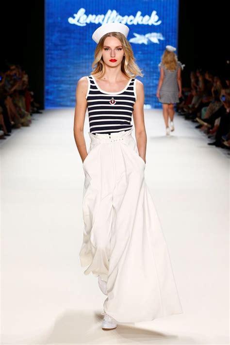lena hoschek fashion week berlin summer 2017 runway fashion nautical fashion und
