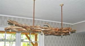 Lustre En Bois Flotté : pays lustre bois flott bois flottant qui craque ~ Teatrodelosmanantiales.com Idées de Décoration
