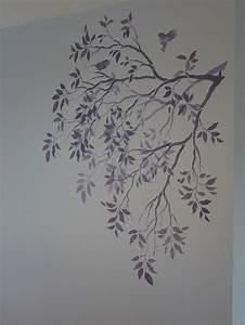 pochoir arbre latest pochoir en forme duarbre chez the With nice couleur peinture mur 7 pochoir nuage pour deco murale