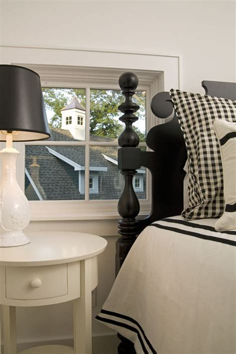 country style bedrooms how to design a room around a black bed
