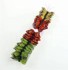 Deko Schmetterlinge Groß : deko schmetterlinge am draht farbig 5cm 24st gro handel und lagerverkauf ~ Yasmunasinghe.com Haus und Dekorationen