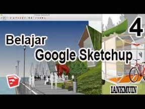 Belajar Sketchup Part Membuat Pagar Sederhana Youtube