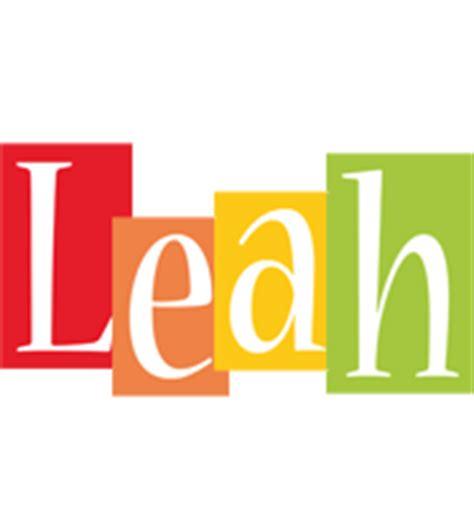 Leah Logo | Name Logo Generator - Smoothie, Summer ...
