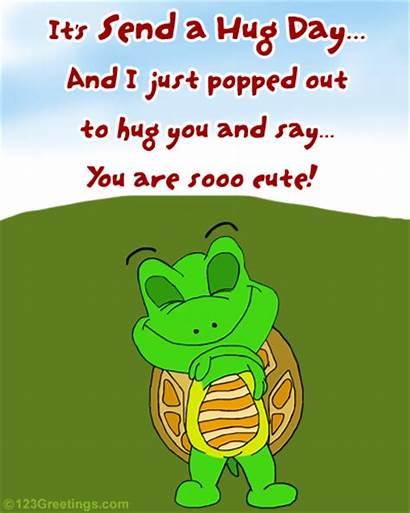 Hug Happy Hugs Animated Send Valentines Wallpapers