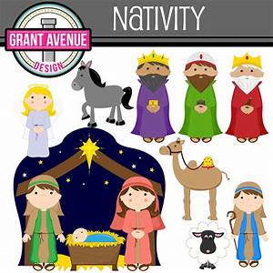 Nativity Clipart - Cliparts Galleries