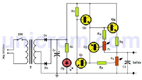 diagrama de conexi 243 n y una fuente simple que sirve para