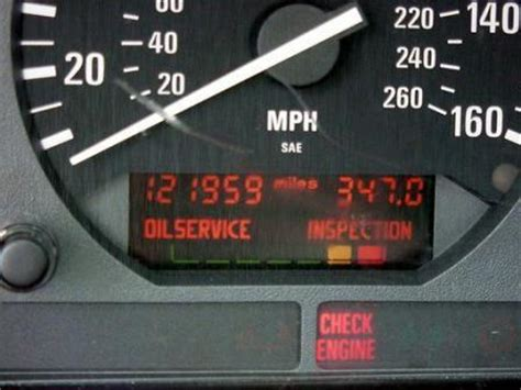 bmw service lights service schedules d and t wise ltd
